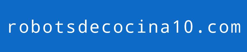 robotsdecocina10.com